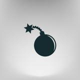 Значок бомбы TNT Стоковые Изображения RF