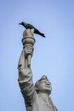 Значок борца за свободу Индии Стоковое Изображение