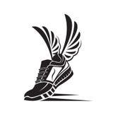 Значок ботинка спорта иллюстрация вектора