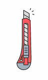 Значок бумажного ножа Стоковая Фотография RF