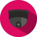Значок вектора камеры слежения Стоковое Фото