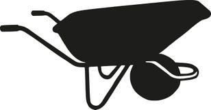 Значок вектора кургана тачки простой бесплатная иллюстрация