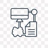 Значок вектора передачи файлов изолированный на прозрачной предпосылке, li иллюстрация штока