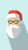 Значок вектора Санта Клауса иллюстрация штока