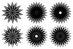 Значок вектора цветка бесплатная иллюстрация