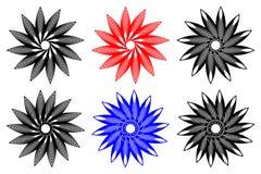 Значок вектора цветка иллюстрация вектора