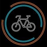 Значок велосипеда - иллюстрация велосипеда вектора - спорт бесплатная иллюстрация
