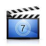 Значок видеопроигрывателя Стоковые Изображения RF
