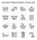 Значок водоочистки иллюстрация штока
