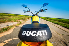 Значок встряхивателя - Ducati Стоковое Изображение RF