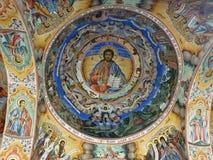 Значок в монастыре Rila стоковое фото rf