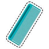 значок гребня волос Стоковая Фотография RF