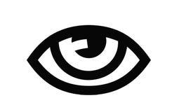 Значок глаза Стоковые Изображения RF