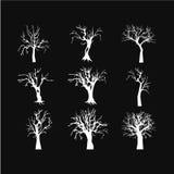 Значок дерева хеллоуина иллюстрация вектора