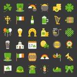 Значок дня ` s St. Patrick иллюстрация вектора