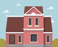 Значок дома вектора иллюстрация штока