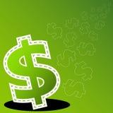 Значок денег Стоковые Фотографии RF