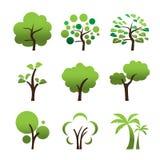 Значок дерева Стоковое Фото