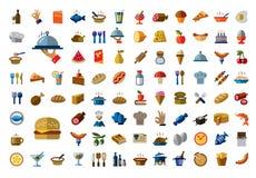 Значок еды Стоковое Фото