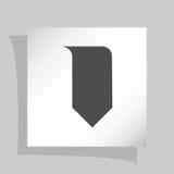 Значок закладки Стоковое Изображение RF