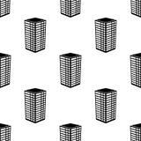 значок здания 3d Элемент значка здания 3d для передвижных apps концепции и сети Значок здания 3d повторения картины безшовный зна бесплатная иллюстрация
