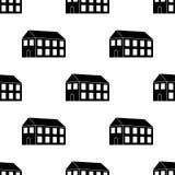 значок здания 3d Элемент значка здания 3d для передвижных apps концепции и сети Значок здания 3d повторения картины безшовный зна иллюстрация штока