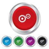 Значок знака установок Cog. Символ шестерни Cogwheel. бесплатная иллюстрация