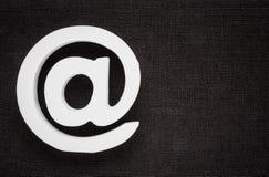Значок интернета символа электронной почты Стоковые Изображения RF