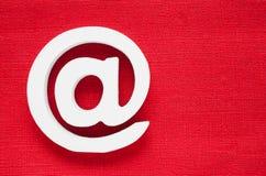 Значок интернета символа электронной почты Стоковые Фотографии RF