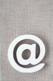 Значок интернета символа электронной почты Стоковая Фотография RF
