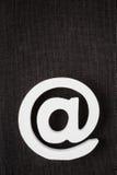 Значок интернета символа электронной почты Стоковые Фото
