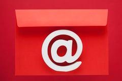 Значок интернета символа электронной почты Стоковое Изображение