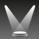 Значок интернет-ссылки голубого вектора плоский Стоковые Изображения RF