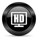 значок дисплея hd Стоковая Фотография RF