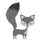 Значок лисы шаржа бесплатная иллюстрация