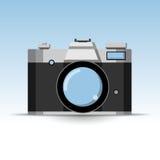 Значок камеры фото ретро Стоковая Фотография