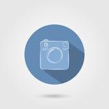 Значок камеры Стоковое Изображение RF