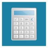 Значок калькулятора Стоковое фото RF