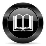 Значок книги Стоковые Изображения