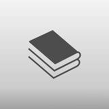 Значок книги Стоковое фото RF