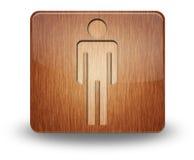 Значок, кнопка, уборный людей пиктограммы стоковое фото rf