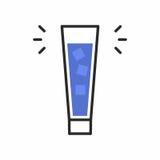 Значок коктеиля Стоковое фото RF