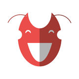 значок комедии маски театра шаржа иллюстрация штока