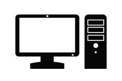 Значок компьютера Стоковое Изображение