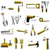 Значок комплекта инструмента Стоковое Изображение RF
