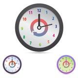 Значок концепции времени Стоковое Изображение