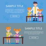 Значок концепции infographics образования иллюстрация штока