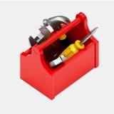 Значок коробки инструментов стоковые изображения
