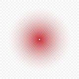 Значок круга боли бесплатная иллюстрация