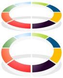 Значок кругового диаграмм, значок диаграммы Элемент для infographic дизайна бесплатная иллюстрация